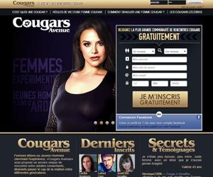Site de rencontre femme mure infidèle Cougars Avenue